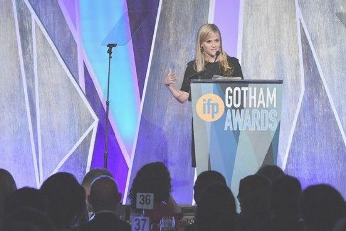 Photo of Reese Witherspoon Photos – Actress, producer Reese Witherspoon speaks onstage du…