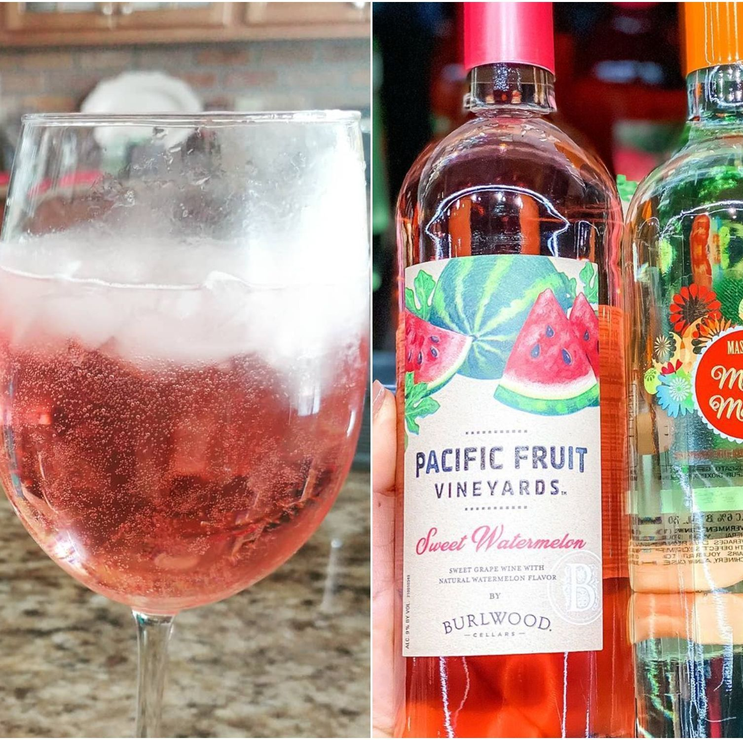 Aldi Is Selling A Bright Pink Watermelon Wine And It S Less Than 5 A Bottle In 2020 Watermelon Wine Fruit Wine Wine