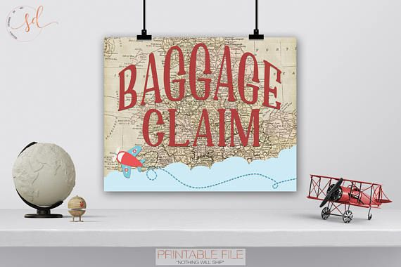 Vintage Travel Party Sign, Baggage Claim Sign, Around World Theme, Airplanes Birthday, Adventure Awa is part of Vintage Travel Party Sign Baggage Claim Sign Around World Etsy - squishydesignInstagram @SquishyDesignsbyMeTwitter @Squishy Design                        •TERMS OF USE••This is for PERSONAL use only  You may not forward, share, sell or distribute files in any way  •You may not claim copyright or trademark of any designs or design aspects •Designs are not for use as business advertisements, packaging, or branding, message me for commercial use pricing •All Commercial (for profit) use is strictly prohibited, unless otherwise stated •You do not have permission to alter the design in any way, create derivative works, or use design elements separately from the design  •Files are emailed as a flattened JPEG or password protected PDF  NO EXCEPTIONS •All rights reserved ©SquishyDesignsbyMe