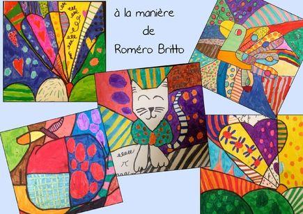 Rom ro britto arts visuels pinterest arts visuels visuelle et art plastique - Activite manuelle elementaire ...