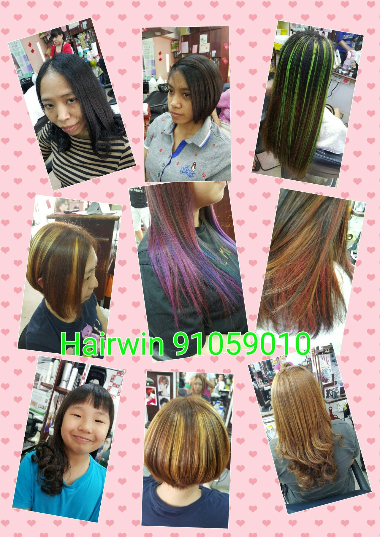 Soft Rebonding Or Korean Perm Colour Touchuphighlightdipdye