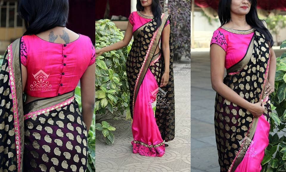 30 Trendy Blouse Back Neck Designs For Silk Sarees Keep Me Stylish Ladies Blouse Designs Blouse Designs Silk Saree Blouse Designs