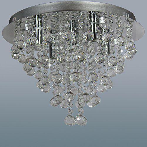 Bathroom Light Fixtures Crystal ella fashion® rain drop modern chandelier lighting pendant