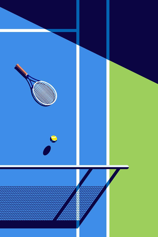 Tennis Wallpaper Iphone 550464 Tennis Wallpaper Tennis Art Tennis
