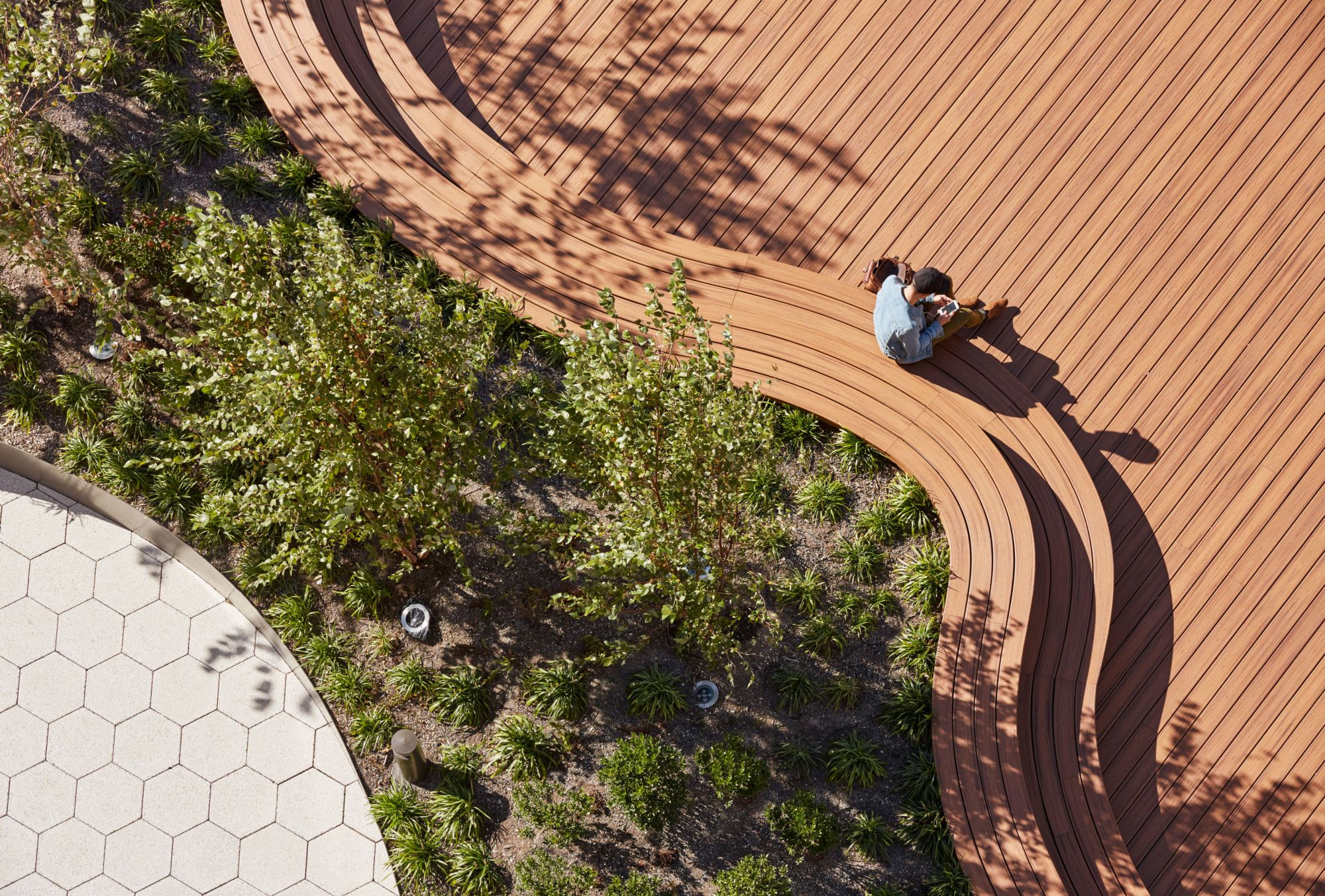 Hall of Science Discovery Terrace | Urban Landscape Design ...