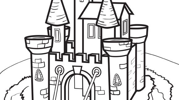 princess series castle grandparentscom free coloringcoloring pagesprincess - Castle Coloring Pages