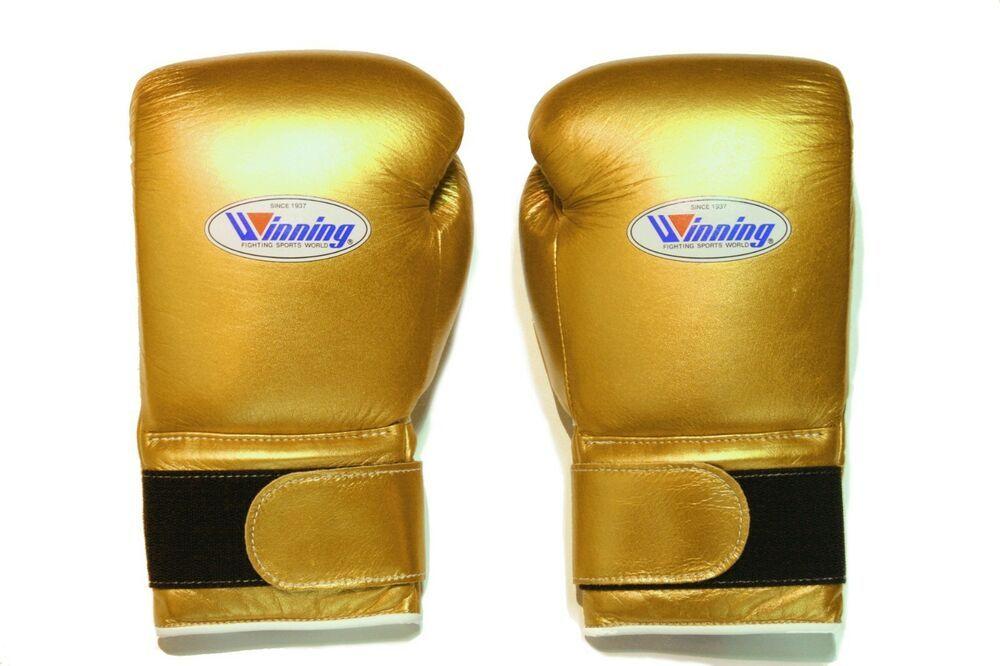 eBay #Sponsored Winning Boxing Gloves(GOLD) Tape Pro Type MS