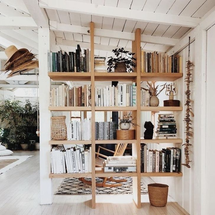 Casual Room Divider Ideas To Create Flexibility 28 99bestdecor Diy Room Divider Wall Bookshelves Diy Bookshelf Wall