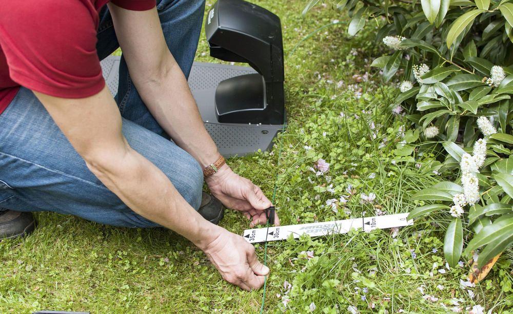 Mahroboter Ohne Begrenzungskabel Mahen Vertikutieren Rasenkanten