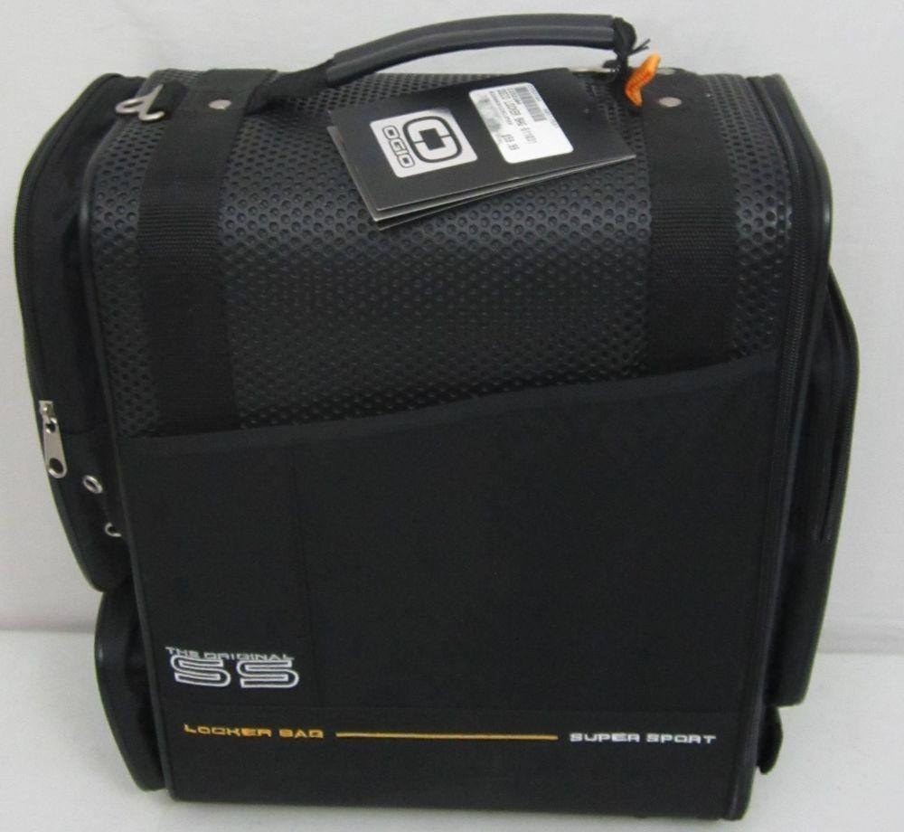 New Ogio O Gio Black Ss Super Sport Locker Bag Lifetime Warranty Travel Luggage