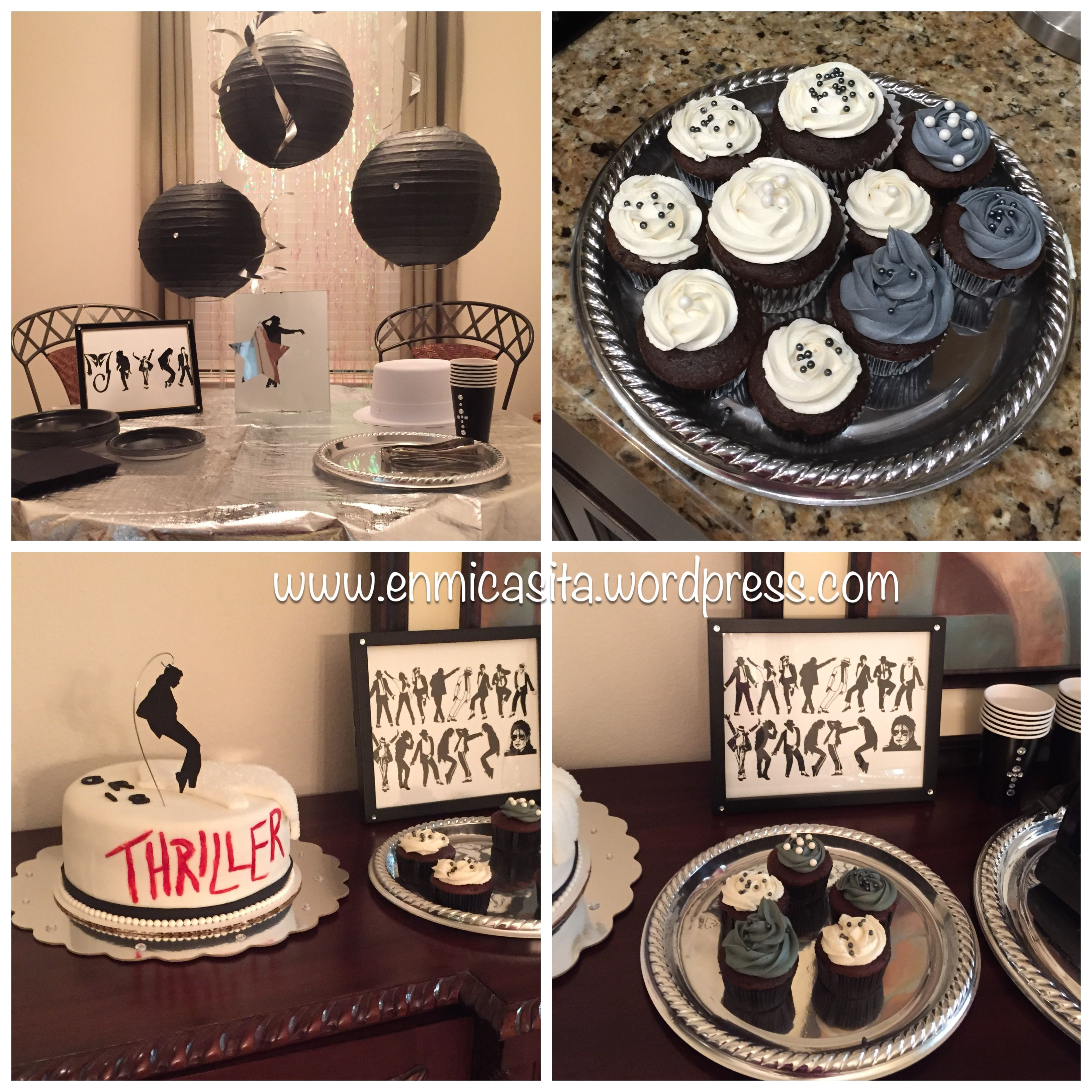 Michael Jackson Thriller Birthday Party and Cake Michael jackson