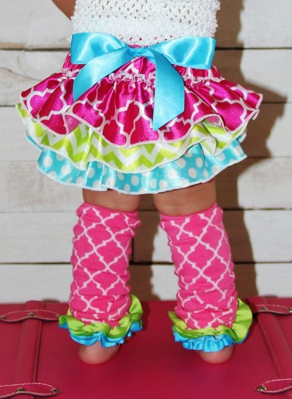 Starburst Ruffle Bloomers | Sparkle in Pink