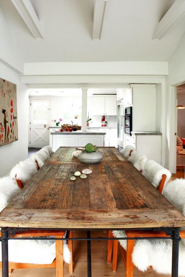 Tendencias Conely: mesas hechas de puertas antiguas | Pinterest ...