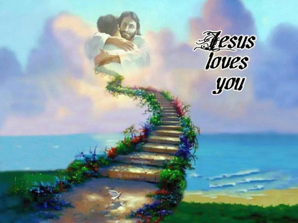 religous images free jesus loves you wallpaper download the