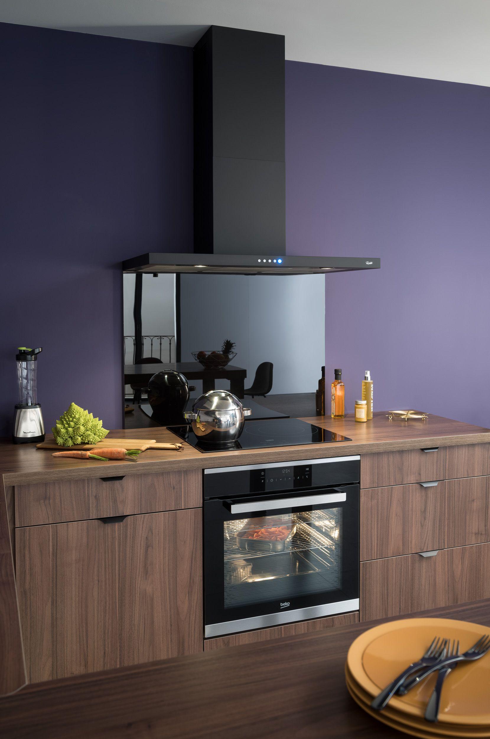 panneau credence cuisine good soignez le look de votre cuisine en optant pour une belle crdence. Black Bedroom Furniture Sets. Home Design Ideas