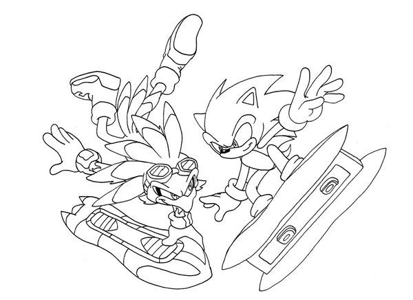 Sonic Unleashed Coloring Pages | Coloring-Sonic the Hedgehog ...