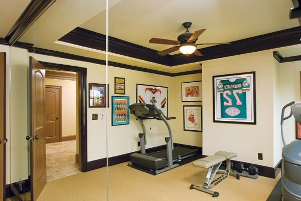 10 Cool Home Gym Design Ideas FURNISHism Home gym