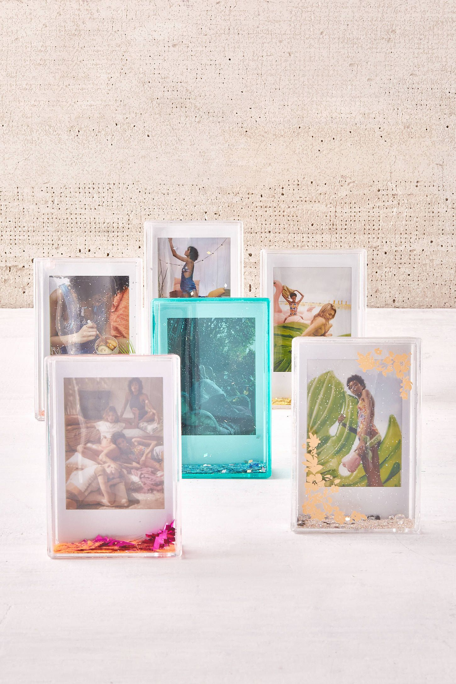 Slide View 3 Mini Instax Palm Glitter Picture Frame Fancyfunny