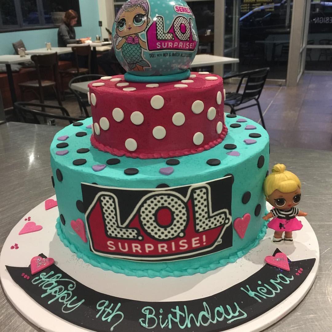 Birthday Cake. #lolcake #birthdaycake #europatisserie