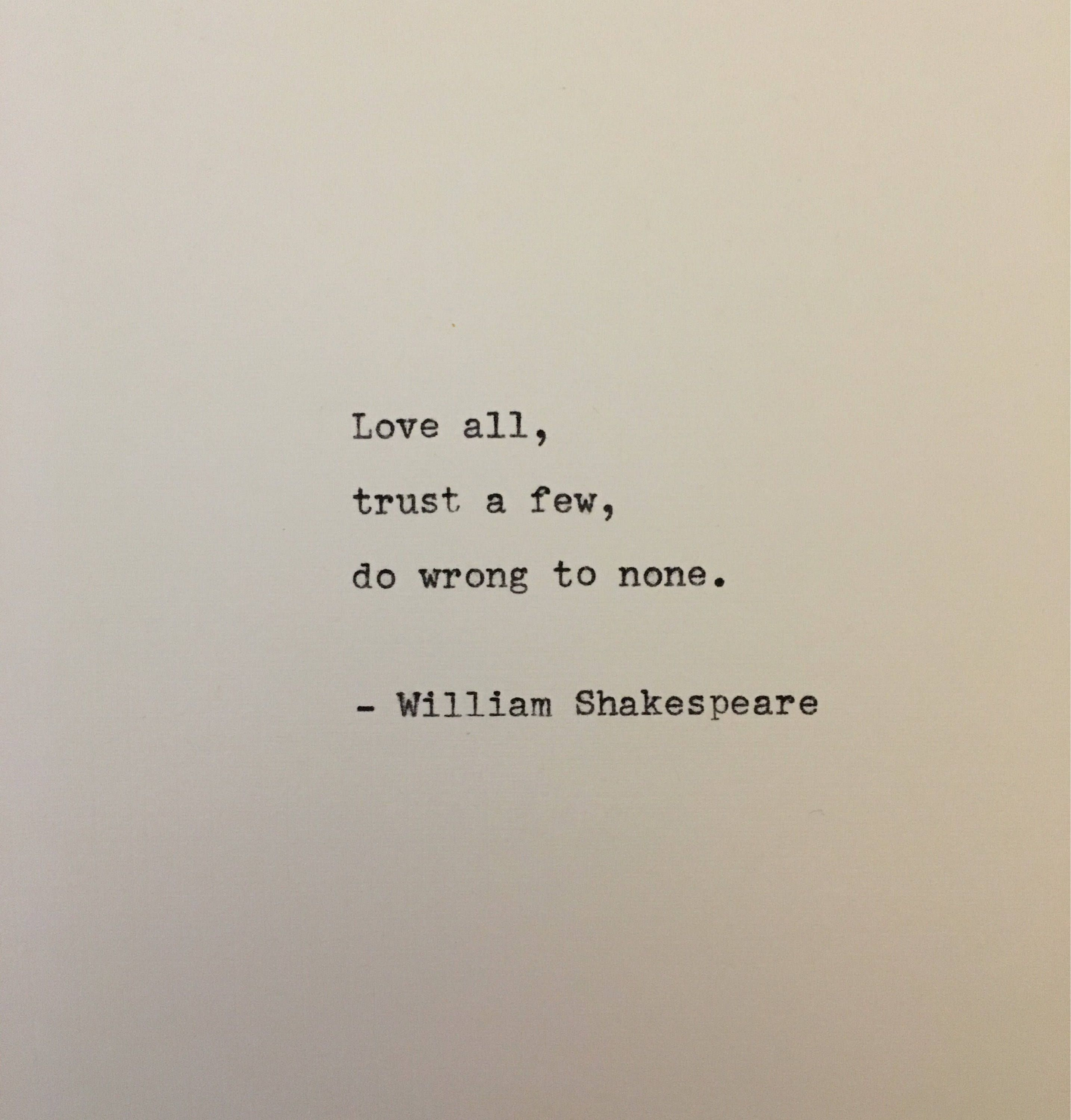 Pin On Ultimate Handmade Typewriter Gift For Him And Her No Fear Shakespeare Hamlet Act 1 Scene 3
