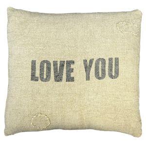 LOVE YOU (LINEN)