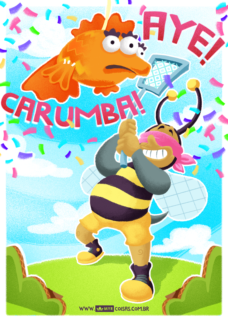 BumbleBee Man, by Eduardo Myr - 2014
