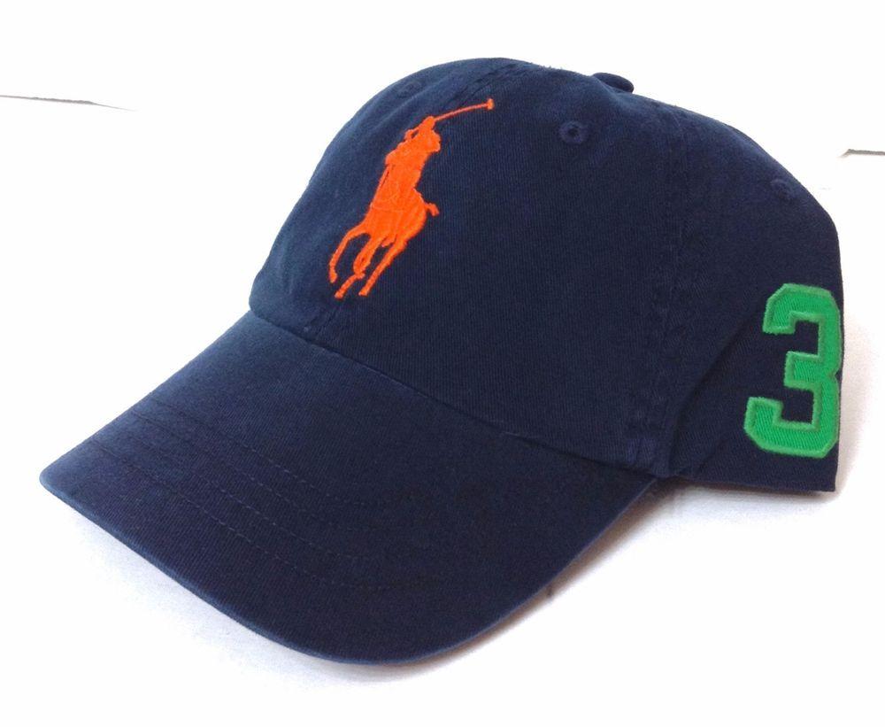 New 49 POLO RALPH LAUREN HAT Navy Blue Green Orange Pony 3 1967 Men Women  Cotton  PoloRalphLauren  BaseballCap 578c159e1b5d