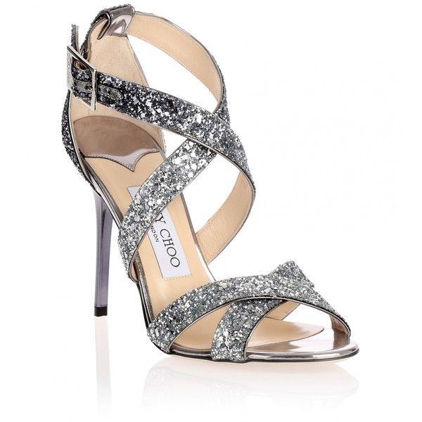 Jimmy choo Sandals Lottie leather glitter ftbzMon