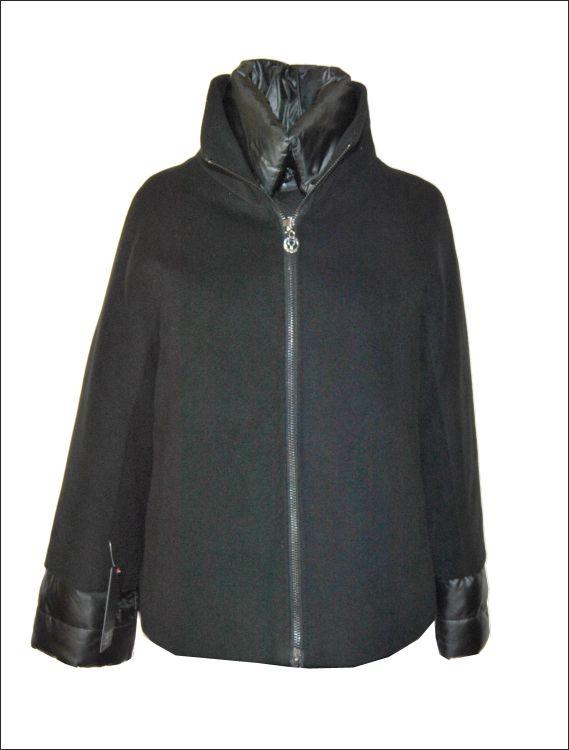 878e092be2bf Γυναικείο υφασμάτινο μπουφάν με συνδυασμό υλικών Μοντέλο  SERENA Τιμή  158€