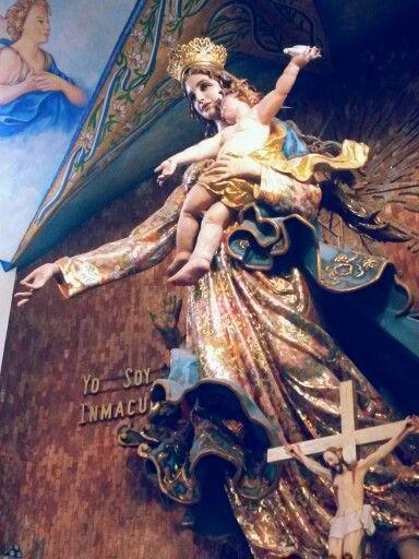 Virgen de la inmaculada concepción, Chignahuapan, Puebla