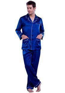 536236138 Pijama de hombre en seda | Men styles en 2019 | Pijama, Pijama de ...