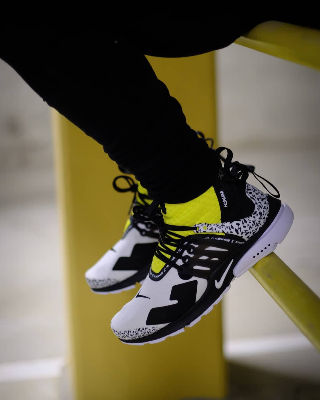 Nike Air Presto Acronym Dynamic Yellow