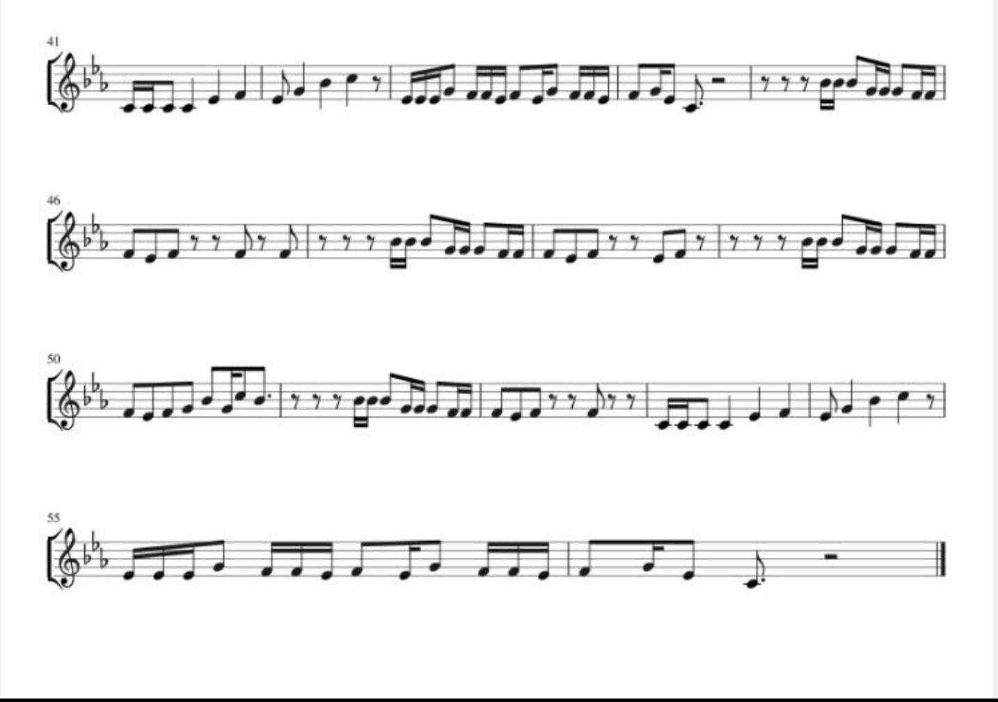 Awake Jin Part 2 With Images Sheet Music Violin Sheet Music