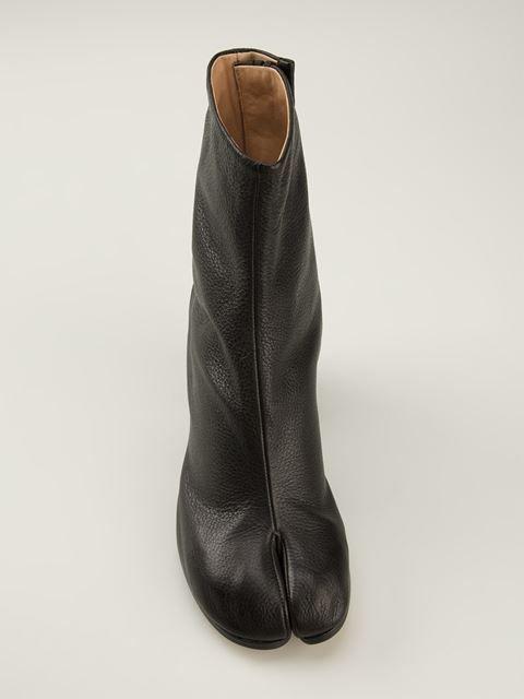 657a0fbc6aa Maison Martin Margiela Hoof Ankle Boots - Degli Effetti Women ...