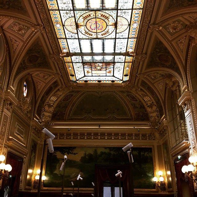 #Casino Casino de Monte Carlo devoid of gamblers. Nice ceiling though. #montecarlo #casino #france #monaco #ornate #gold #gambling #interiordesign by rhwooddesign from #Montecarlo #Monaco