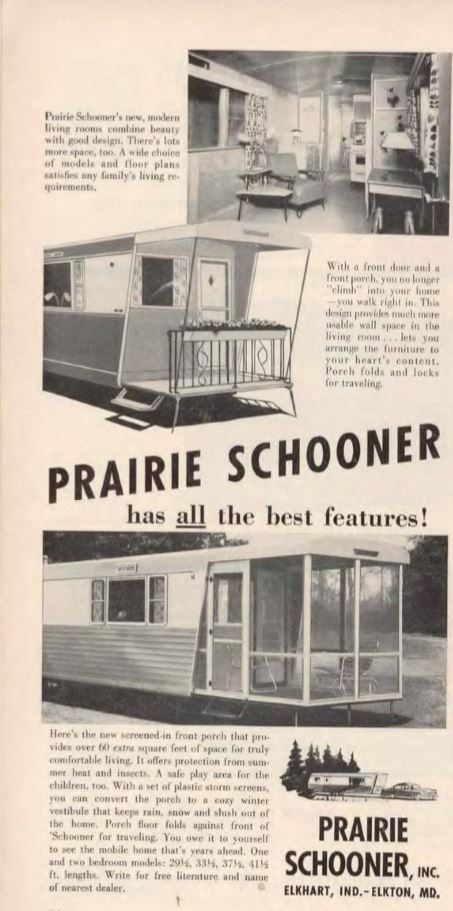Vintage Mobile Homes Of 1955 Throwback Thursday Series Issue 4