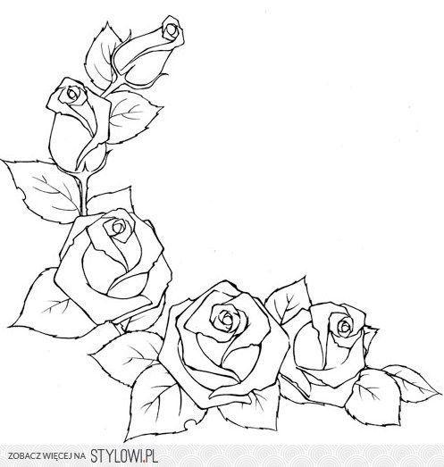 szablon - róże na Stylowi.pl