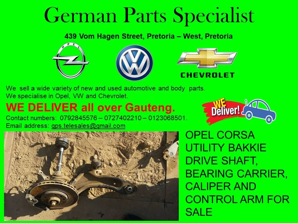 At German Parts Specialists We Specialise In Volkswagen Opel And Chevrolet With Us You Can Get Any Parts That You Are In Need Of Such As Engines Gearboxe With Images Opel