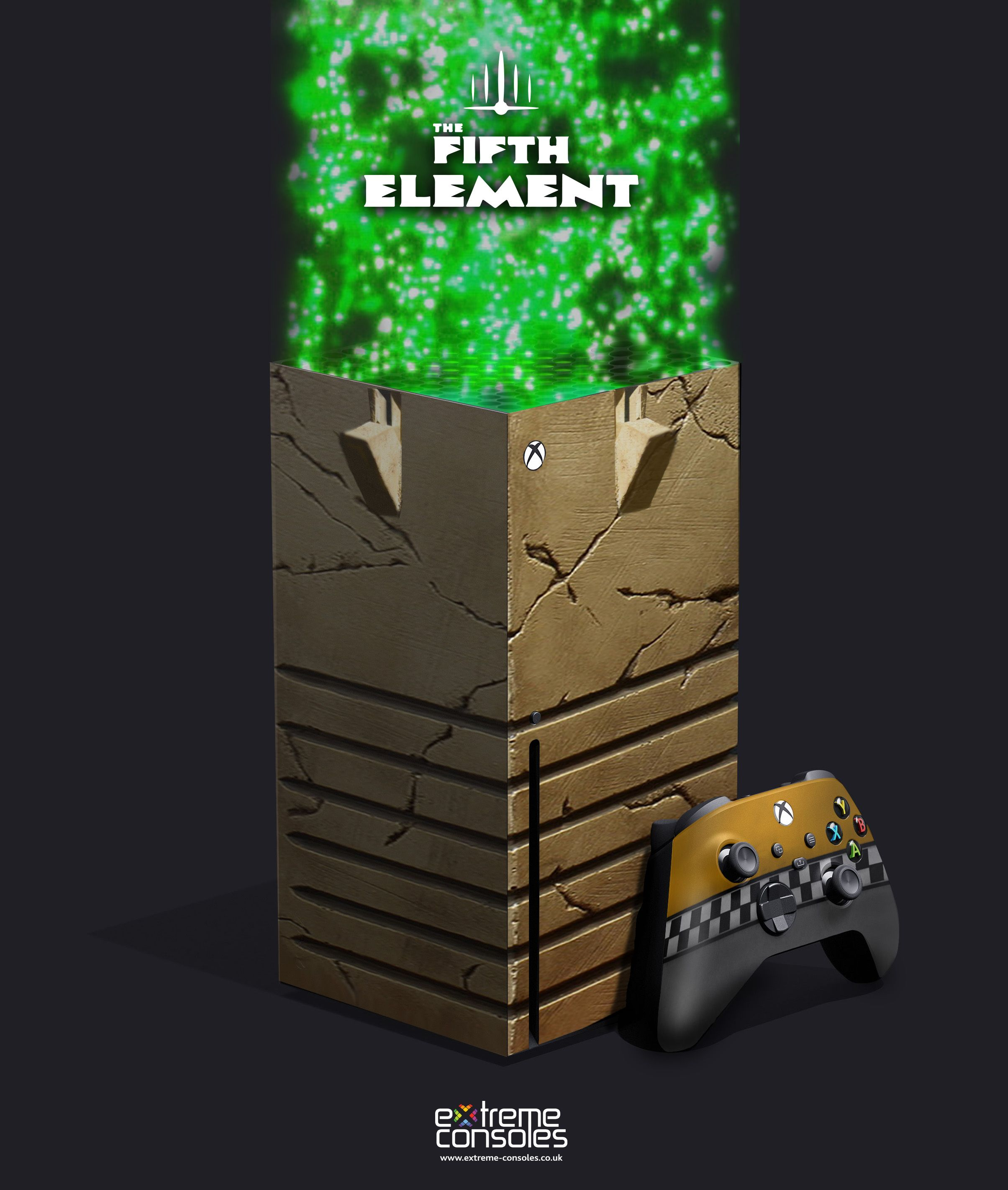 Extreme Consoles On Twitter In 2020 Custom Xbox Fifth Element Concept Design
