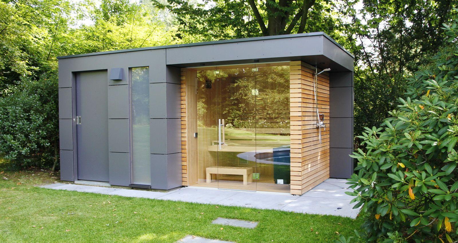 Design Gartenhaus moderne Gartenhäuser schicke Gartensauna