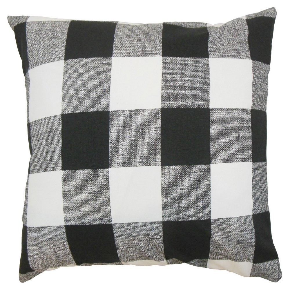 Alfonso Throw Pillow | Purple throw