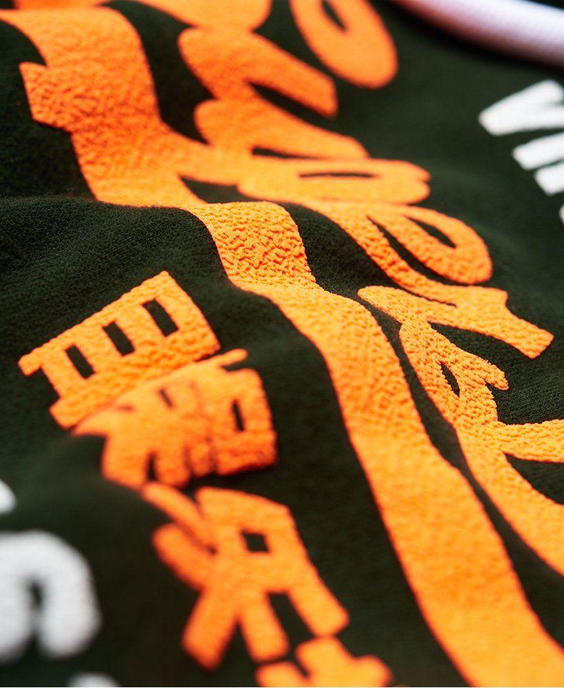 Superdry Herren Dry Graphic T-Shirt Mit Tarnmuster