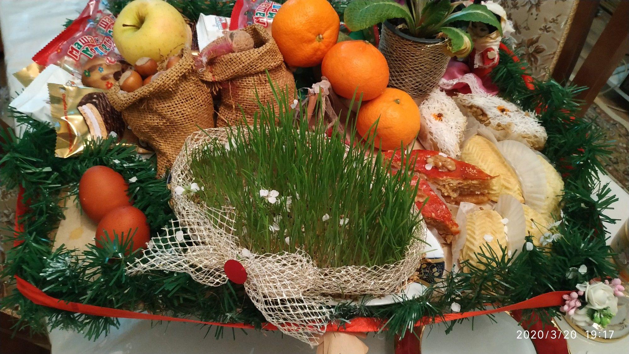 Novruz Xoncasi Table Decorations Decor Holiday Decor