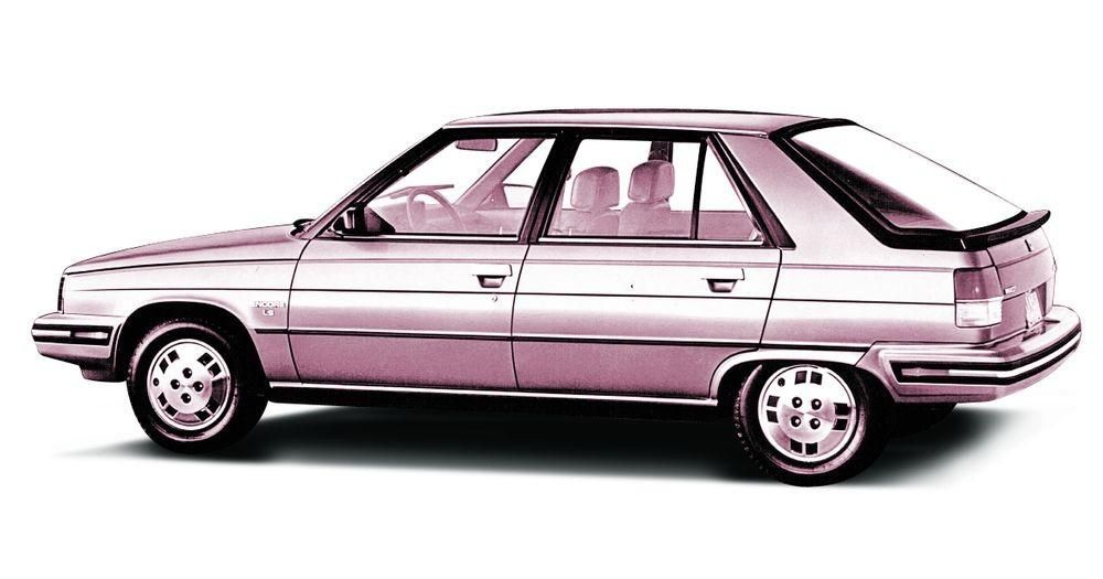 1986 Renault Encore. Most fun car I ever owned. 5-speed manual  transmission. | Renault 9, Renault, European cars