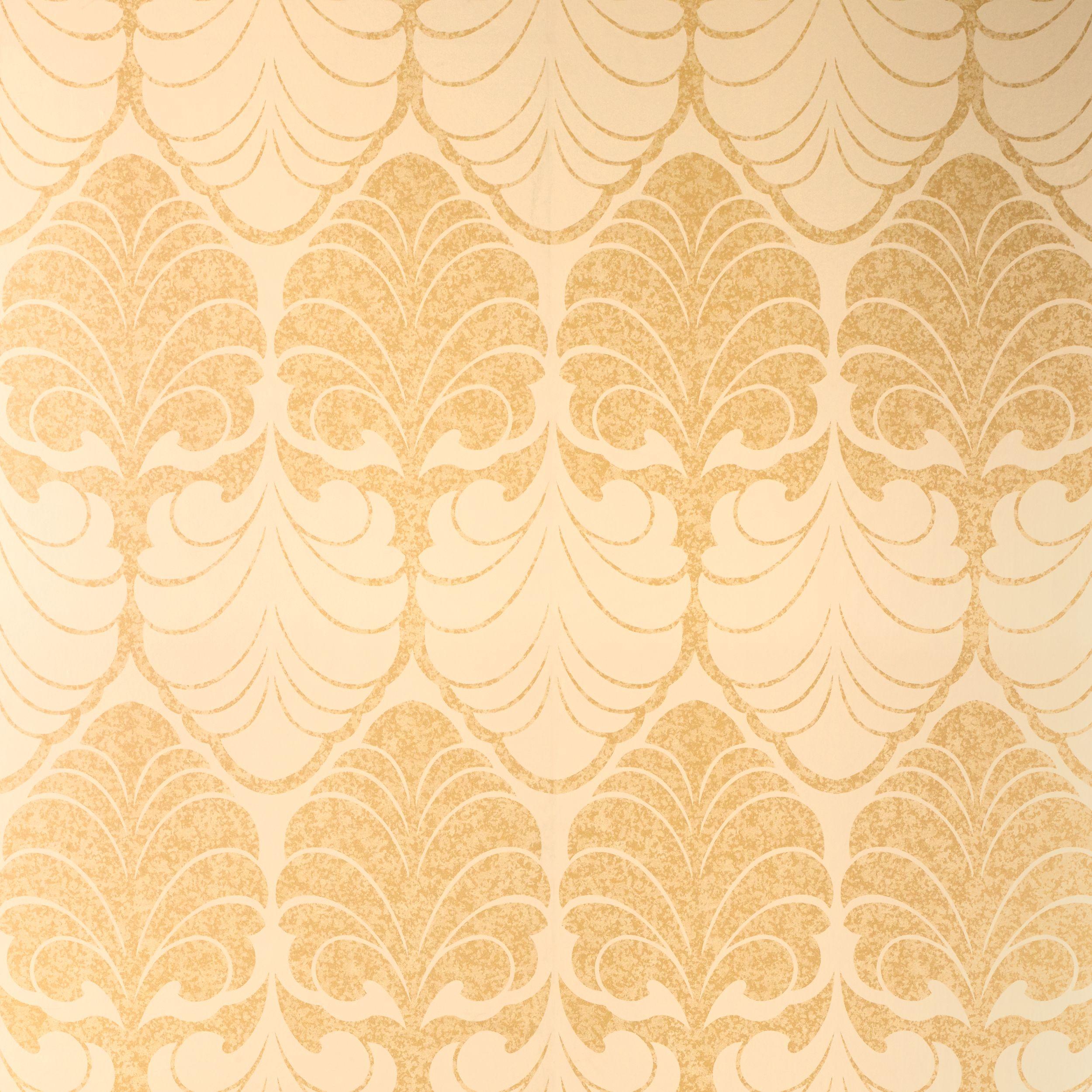 Laura Ashley Alexander Gold Wallpaper | ❥✿⚛PATTERNS⚜⚜PRINTS ...