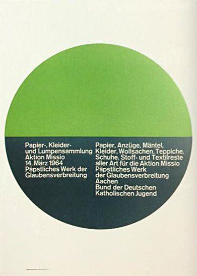 Papier-, Kleider- und Lumpensammlung — Peter Mayer (1964)