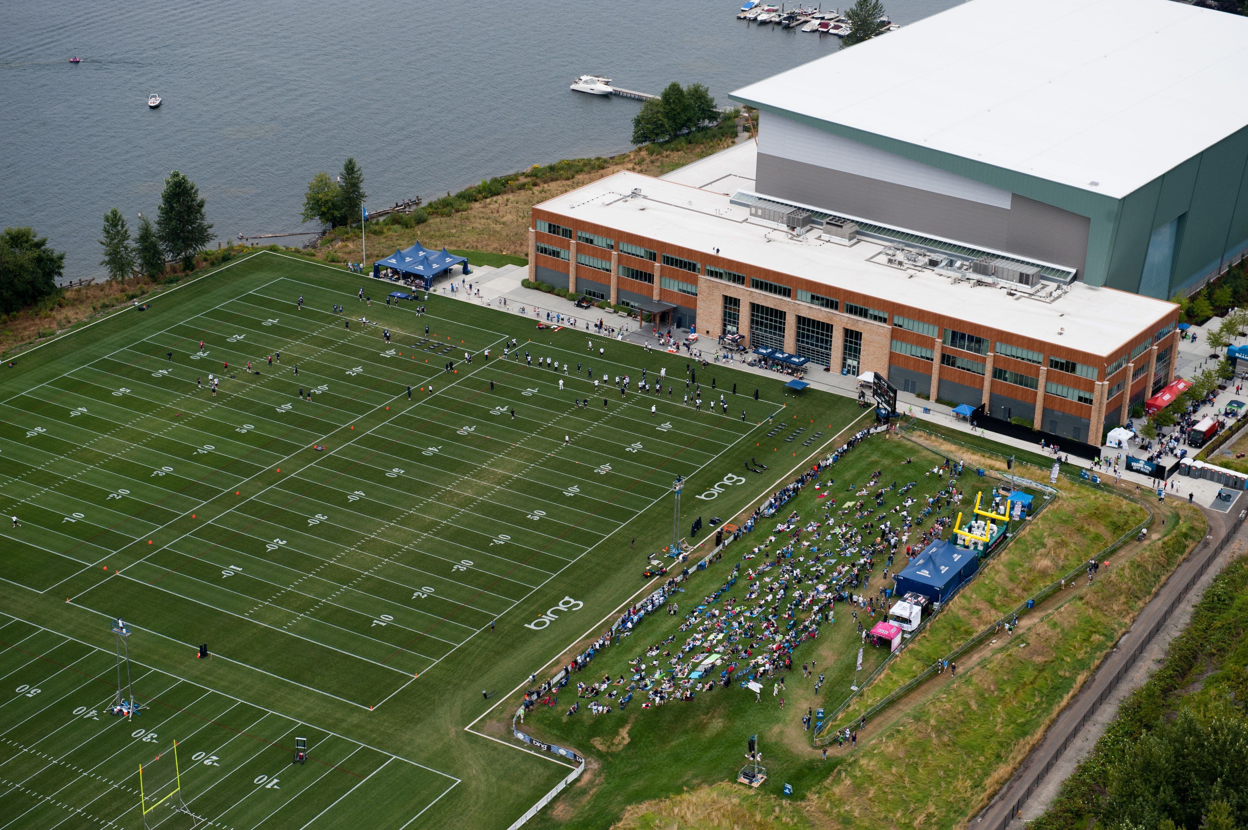 Seahawks Headquarters (Virginia Mason Athletic Center) | Renton,WA  free shipping