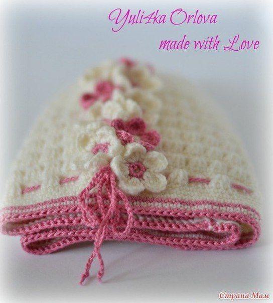 Como tejer un gorro para niñas a crochet01   crochet   Pinterest ...