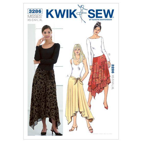 Mccall Pattern K3286 Xs - S - M - L - X - Kwik Sew Pattern