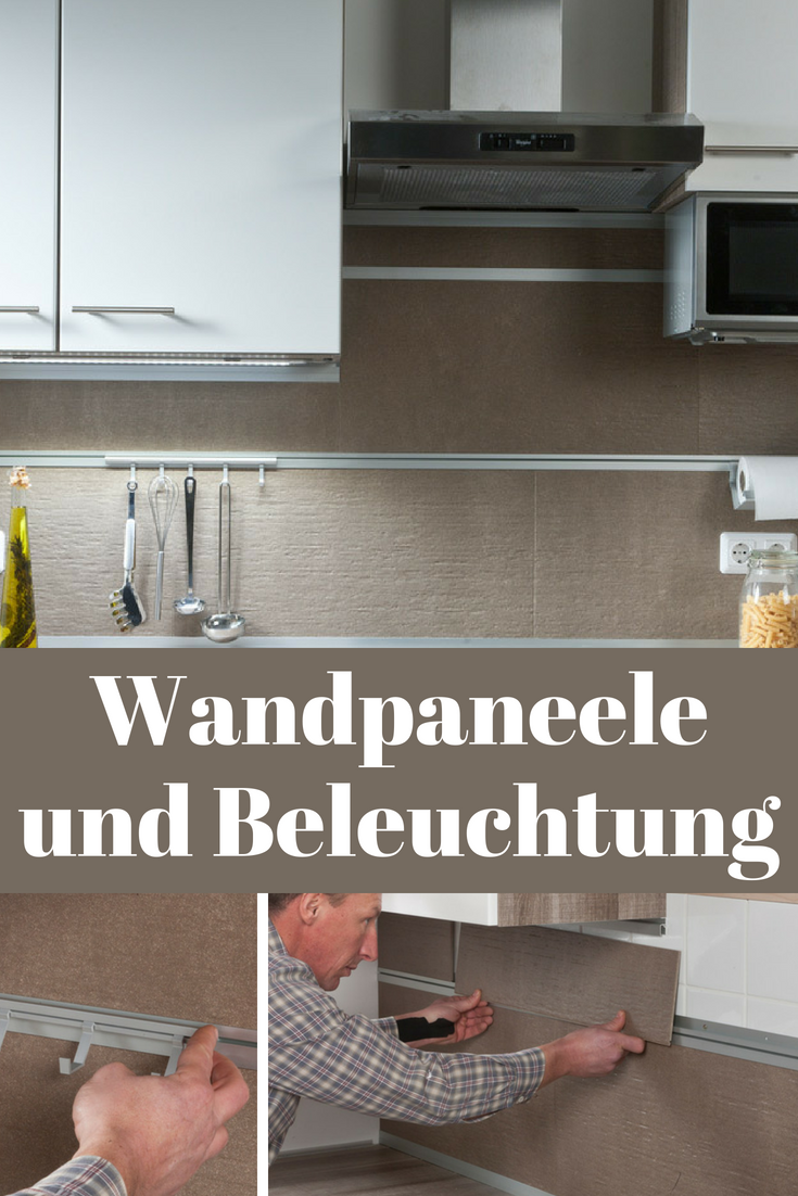 Küchen-Wandpaneele in 2020 | Wandpaneele küche, Wandpaneele ...